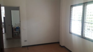 Rear Bedroom Cabinet/TV Location (Rear of house)